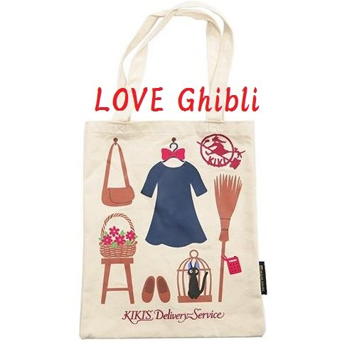 Tote Bag - Canvas - 28x35cm - Kiki's Belongings - Kiki's Delivery Service - Ghibli - 2016 (new)
