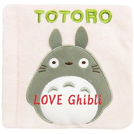 Baby Toy Cloth Book - 15cm - Make Sounds Whistle - Nekobus & Totoro 2016 - no production (new)