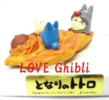 1 left - Ornament Figure - Handmade in Japan - Sho & Chu & Totoro & Acorn - no production (new)