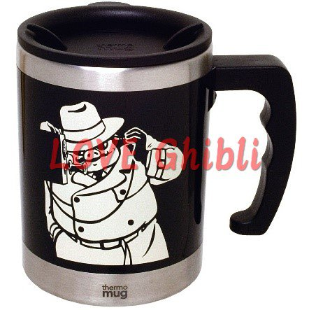 Thermal Mug Cup 400ml - In Collaborative with Thermo Mug - Porco Rosso - Ghibli - 2016 (new)