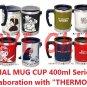Thermal Mug Cup 400ml - In Collaborative with Thermo Mug - Kaonashi No Face Spirited Away 2016 (new)
