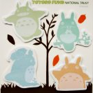 40 Post-it Note / Sticky Note - 4 Design x 10 Each - Made in Japan - Totoro Fund (new)