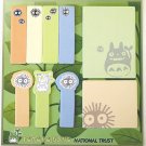90 Post-it Note / Sticky Note - 9 Design x 10 Each - Made in Japan - Totoro Fund (new)