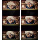 1 left- Bookmarker - Movie Film #51 - 6 Frame - Yubaba - Spirited Away - Ghibli Museum (new)