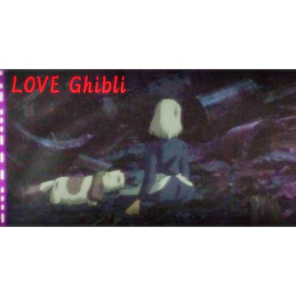 1 left - Bookmarker - Movie Film #36 - 6 Frame - Heen & Sophie - Howl's Moving - Ghibli Museum (new)