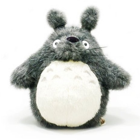 Plush Doll (M) - H27cm - dark gray - Totoro - Ghibli - Sun Arrow (new)