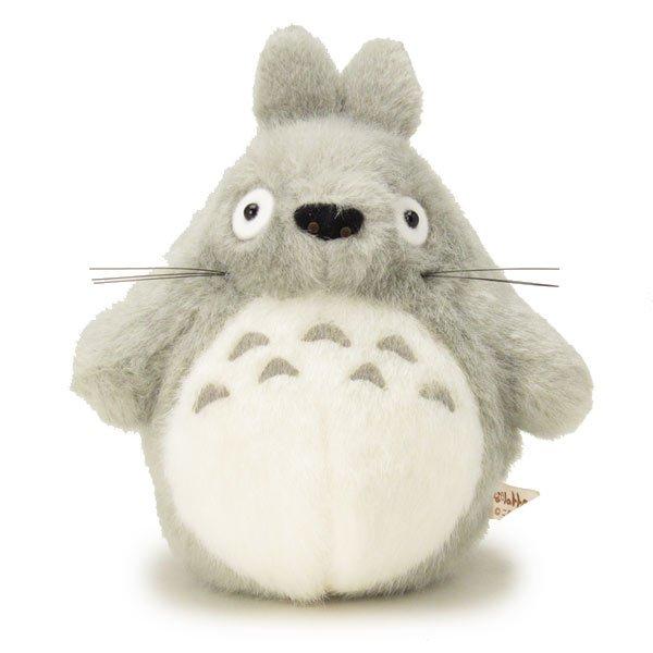 10%OFF - 2 left - Plush Doll S - H18cm - Gray Totoro - Ghibli - Sun Arrow (new)