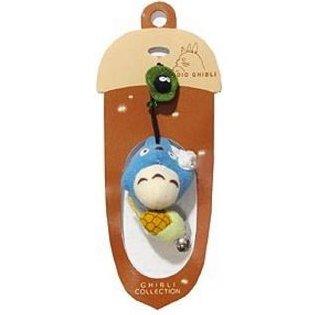 2 left - Hook Strap Holder - Mascot - Bell - Chu Totoro & Corn & Kurosuke - Sun Arrow - no production (new)