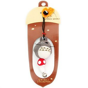 1 left - Hook Strap Holder - Mascot - Totoro & Mushroom & Kurosuke - Sun Arrow - no production (new)