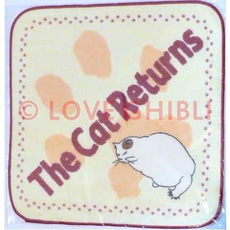 5 left - Mini Towel - Muta - Cat Returns - Ghibli - no production (new)