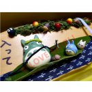 1 left - Wooden Message Board - Handmade in Japan - Chu Sho Totoro - no production (new)