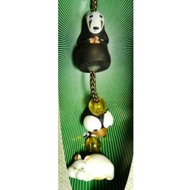 5 left- Strap Holder Holder - Stone Citrine - Kaonashi Bounezumi Haedori Spirited Away no production (new)