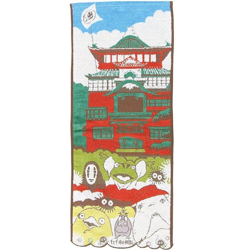 Face Towel 34x80cm Embroidery - Bounezumi Kaonashi Ootorisama Spirited Away 2017 no production (new)