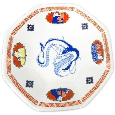 Plate -Octagonal- Porcelain- Made Japan - Kaonashi Ootorisama Haku Dragon - Spirited Away 2017 (new)