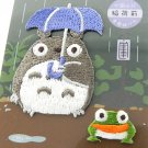 2 Sticker - Embroidery - Totoro & Frog - Ghibli - Ensky - 2017 (new)
