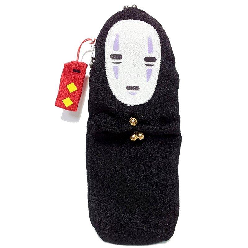 Purse Gamaguchi - Japanese Chirimen - Kaonashi No Face - Spirited Away - 2013 no production (new)