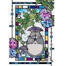 126 pieces Jigsaw Puzzle - Art Crystal like Stained Glass - Totoro - Ghibli - Ensky 2017 (new)