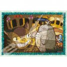 300 pieces Jigsaw Puzzle - Art Crystal like Stained Glass - Nekobus Catbus Totoro Ensky 2017 (new)