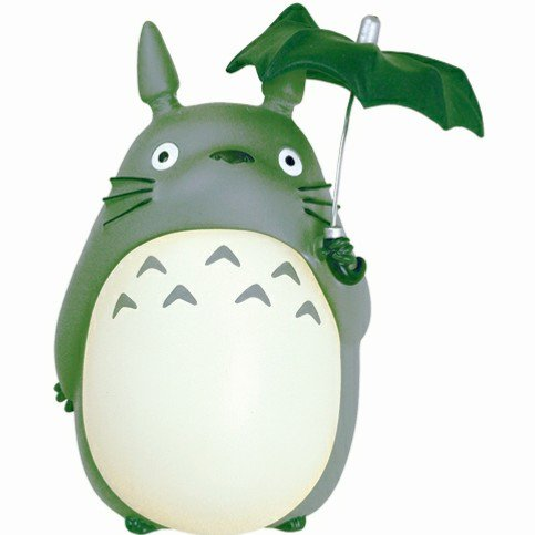 Moneybox / Piggy Bank - H23cm - Holding Coin & Umbrella - Totoro - Ghibli - 2011 (new)