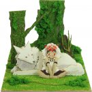Miniatuart Kit - Mini Paper Craft Kit - San & Moro - Mononoke - Ghibli - 2016