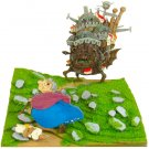 Miniatuart Kit - Mini Paper Craft Kit - Old Sophie & Heen - Howl's Moving Castle Ghibli 2017(new)