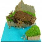 Miniatuart Kit - Mini Paper Craft Kit - Tiger Moth - Laputa - Ghibli - 2015 (new)