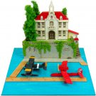 Miniatuart Kit - Mini Paper Craft Kit - Savoia & Curtiss & Hotel Adriano - Porco - Ghibli 2016 (new)