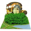 Miniatuart Kit - Mini Paper Craft Kit - Nekobus Catbus Satsuki Totoro - Ghibli - 2017 (new)
