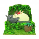Miniatuart Kit - Mini Paper Craft Kit - Mei & Sho & Chu & Totoro - Ghibli - 2017 (new)