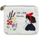 Pocket Tissue Case Pouch - 11x14cm - Embroidery - Jiji - Kiki's Delivery Service Ghibli 2016 (new)