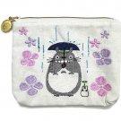 Pocket Tissue Case Pouch - 11x14cm - Embroidery - Kurosuke & Sho & Totoro - Ghibli - 2016 (new)