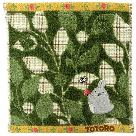 Mini Towel - 25x25cm - Embroidery - Kurosuke & Totoro - Ghibli - 2017 (new)