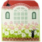 Hand Towel 33x36cm - Jiji Embroidery - Steam Shirring - Kiki's Delivery Service - Ghibli 2017 (new)