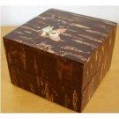 1 left - 2 Tier Lunch Box 700ml Cherry Bark Handmade in Japan - Totoro Ghibli  no production (new)