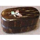 1 left - 2 Tier Lunch Box 470ml Cherry Bark Handmade in Japan - Totoro Ghibli  no production (new)