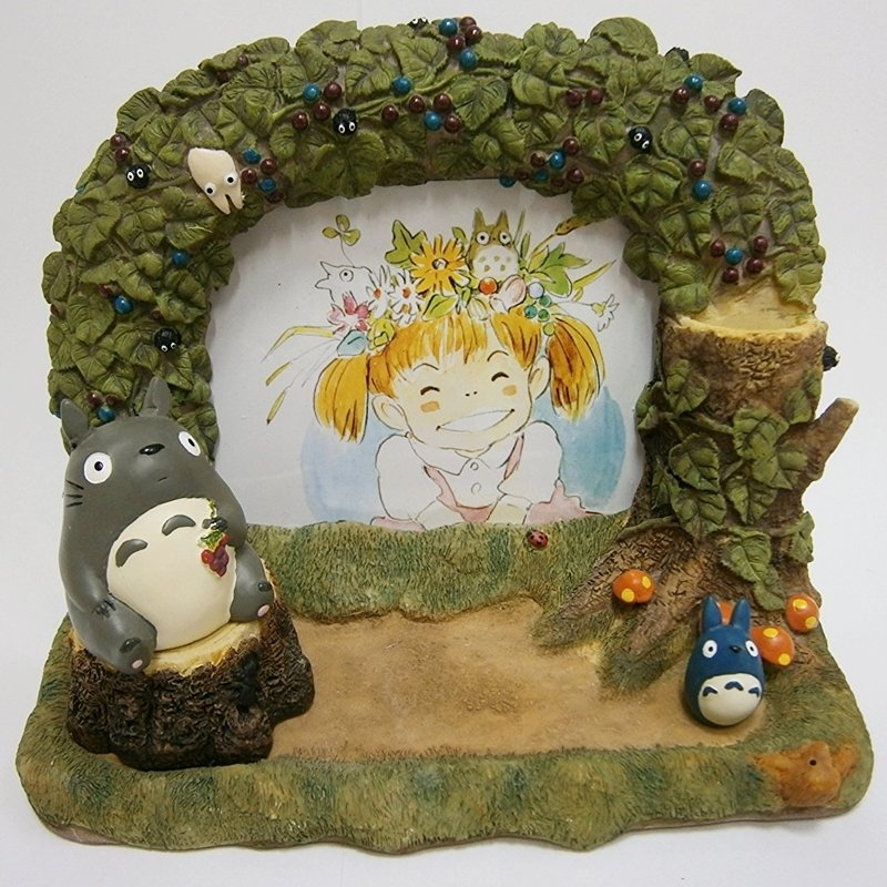 RARE 1 left - Photo Picture Frame - Totoro Magnet - Pen Stand - Dish - Totoro Ghibli no production
