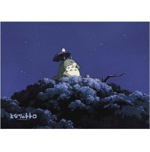 108 pieces Jigsaw Puzzle - yoru no ocarina - Totoro & Chu & Sho Totoro - Ghibli (new)