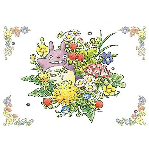 108 pieces Jigsaw Puzzle - haru no kusabana - Totoro & Flower - Ghibli - Ensky (new)