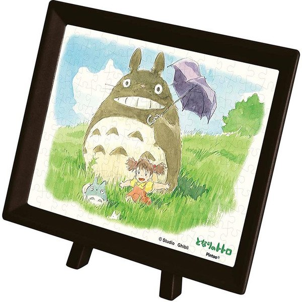 150 pieces Jigsaw Puzzle - Pieces Smallest Size - Frame & Easel - osanpo - Totoro Ghibli 2016 (new)