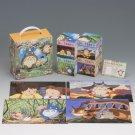 4 Jigsaw Puzzle Set - 15 & 30 & 54 & 80 pieces - Totoro - Ghibli - 2009 (new)