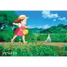 70 pieces Jigsaw Puzzle - Large Size Pieces - aruko - Mei & Totoro - Ghibli - Ensky 2014 (new)
