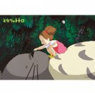 70 pieces Jigsaw Puzzle - Large Size Pieces - totoro tte iunone - Mei Totoro Ghibli Ensky 2014 (new)