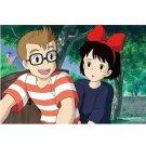 150 pieces - Mini - Jigsaw Puzzle - umi ni mukau Kiki Tombo - Kiki's Delivery Service Ghibli (new)