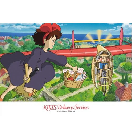 108 pieces Jigsaw Puzzle - catch - Kiki & Tombo - Kiki's Delivery Service - Ghibli - Ensky
