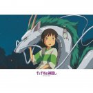 300 pieces Jigsaw Puzzle - Chihiro & Haku Dragon & Bounezumi & Haedori - Spirited Away Ghibli (new)