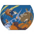 80 piece Jigsaw Puzzle - 3D Art Bowl - Pazu & Sheeta & Robot & Dora - Laputa - Ghibli (new)