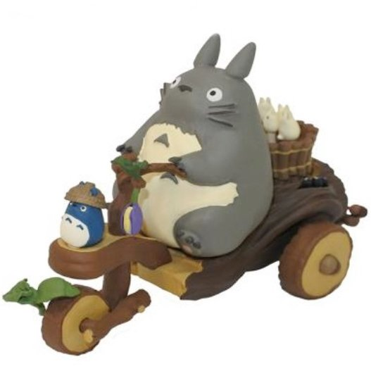 Toy - Pull Back - Tricycle Moves Forward - Sho &Chu & Totoro Move - Ghibli - Ensky - 2017 (new)