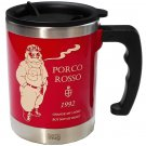 Thermal Mug Cup 400ml - In Collaborative Work with Thermo Mug - Porco Rosso - Ghibli - 2017 (new)