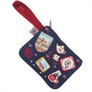Pouch Bag - Cotton - Patch / Wappen & Embroidery - Kiki's Delivery Service - Ghibli - 2015 (new)