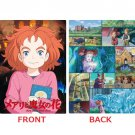Clear Pencil Board Shitajiki - Made Japan Mary and the Witch's Flower Majo no Hana Ghibli 2017 (new)